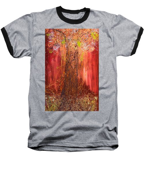 Me Tree Baseball T-Shirt by Gallery Messina