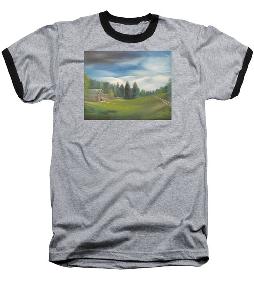 Meadow Dreams Baseball T-Shirt