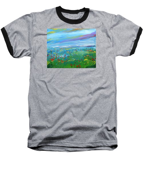Meadow Drops By Colleen Ranney Baseball T-Shirt