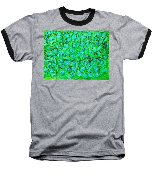Meadow Flowers Baseball T-Shirt by Linde Townsend