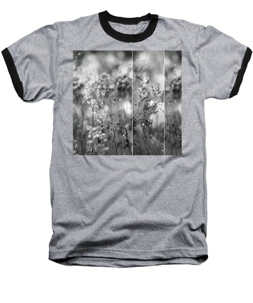 Meadowgrasses Baseball T-Shirt by Linde Townsend