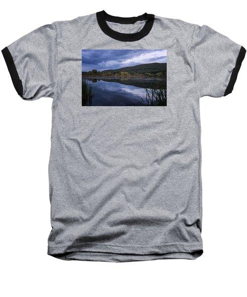 Baseball T-Shirt featuring the photograph Meadows Dusk by Tom Singleton