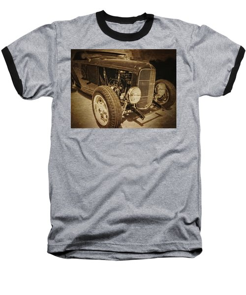 Mean Roadster Baseball T-Shirt