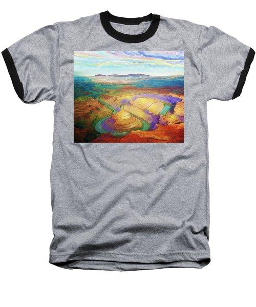 Meander Canyon Baseball T-Shirt