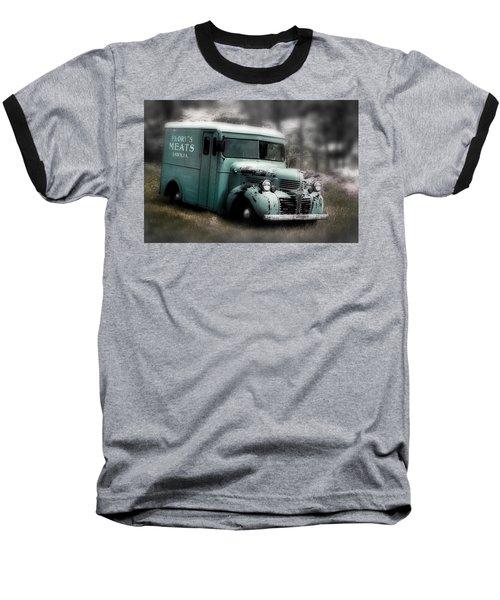 Meat Truck Baseball T-Shirt by Gray  Artus
