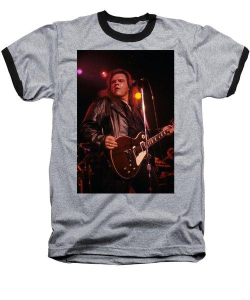 Meatloaf Baseball T-Shirt