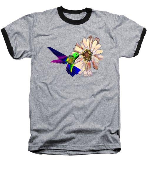 Mecha Whirlygig Baseball T-Shirt by Iowan Stone-Flowers