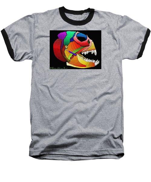 Mechanic Fishhead Baseball T-Shirt