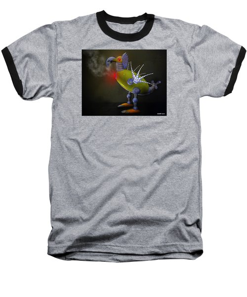 Mechanical Bird Baseball T-Shirt