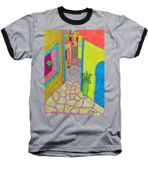 Med Town Baseball T-Shirt