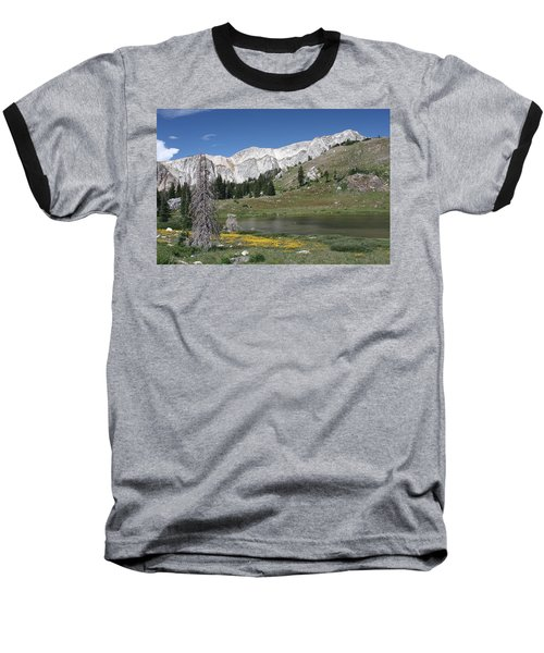Medicine Bow Peak Baseball T-Shirt