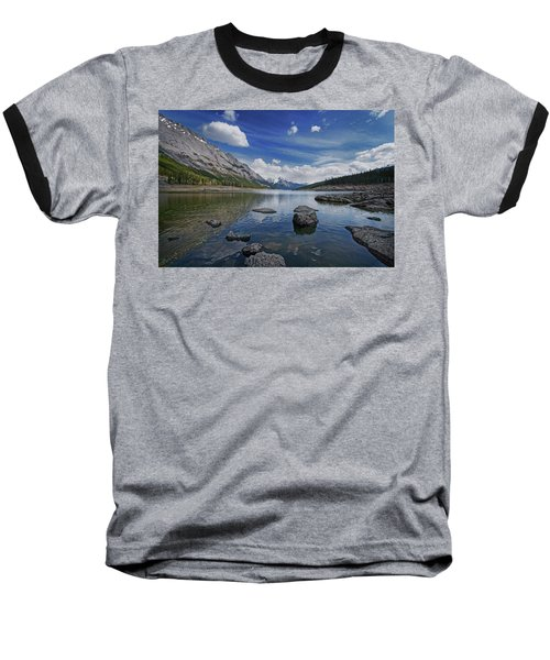 Medicine Lake, Jasper Baseball T-Shirt