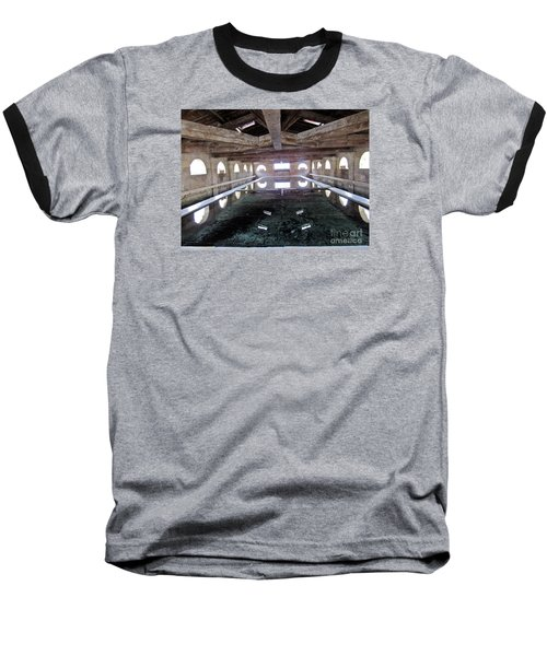 Medieval Bath House Baseball T-Shirt