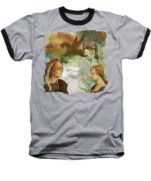Medieval Dreams Baseball T-Shirt