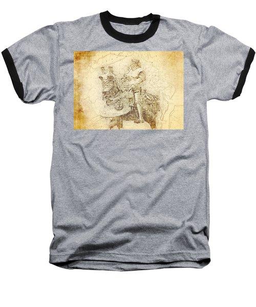 Medieval Europe Baseball T-Shirt