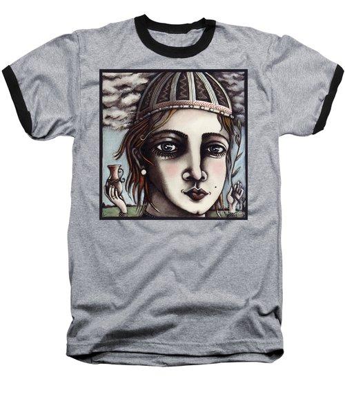 Medieval Herbalist Baseball T-Shirt