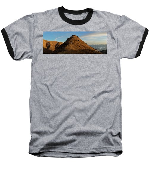 Medieval Proshaberd Fortress On The Top Of The Hill, Armenia Baseball T-Shirt by Gurgen Bakhshetsyan