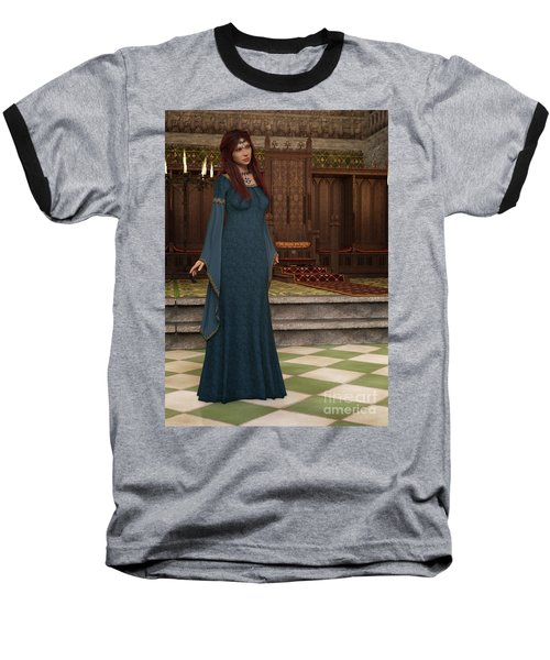 Medieval Queen Baseball T-Shirt