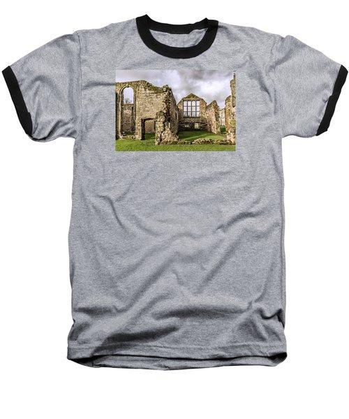 Medieval Ruins Baseball T-Shirt