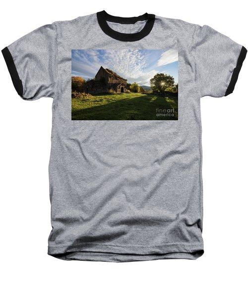 Medieval Tezharuyk Monastery During Amazing Sunrise, Armenia Baseball T-Shirt