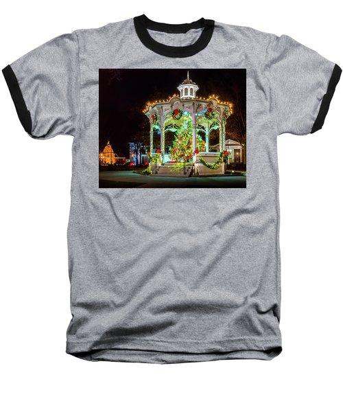 Medina, Ohio Christmas On The Square. Baseball T-Shirt