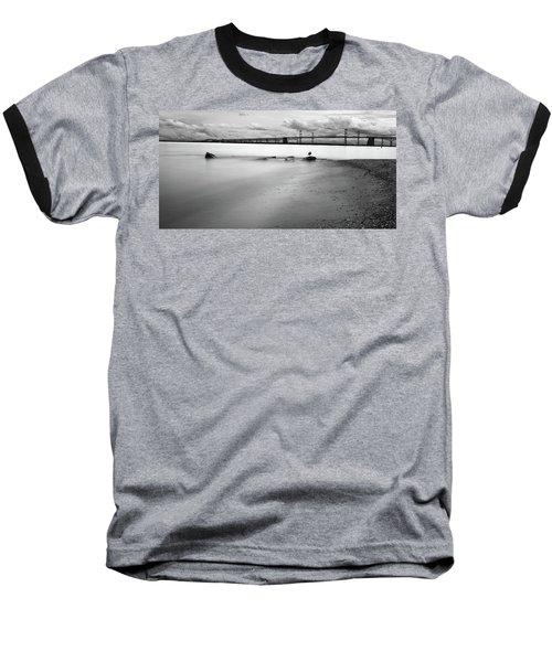Meditating Sea Gull Baseball T-Shirt