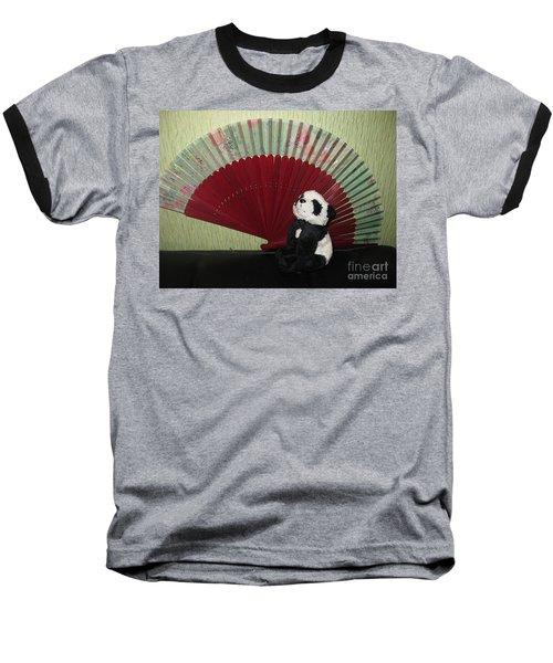Baseball T-Shirt featuring the photograph Meditation Hour by Ausra Huntington nee Paulauskaite