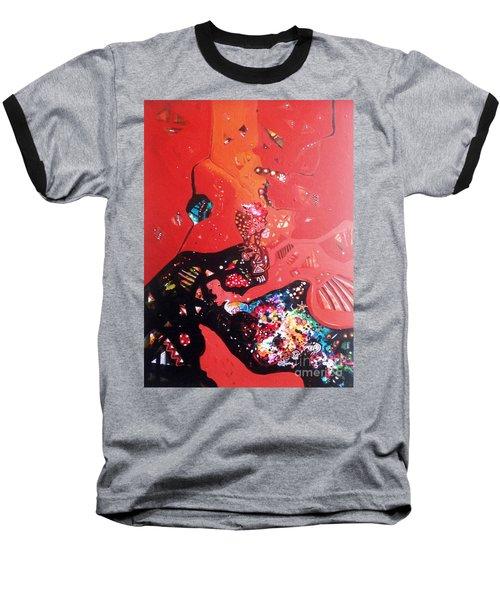 meditation I Baseball T-Shirt by Sanjay Punekar