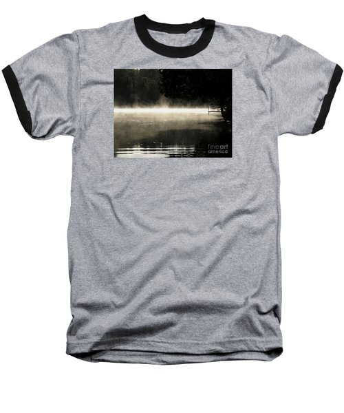 Meditation Morning Baseball T-Shirt by France Laliberte