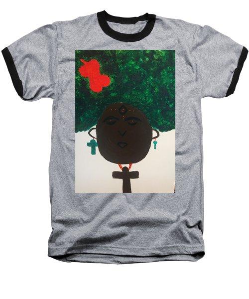 Meditation Queen  Baseball T-Shirt