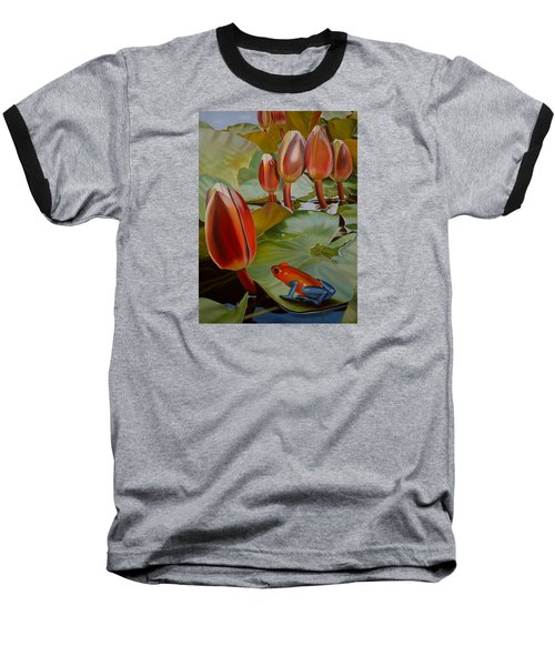 Meditation Baseball T-Shirt