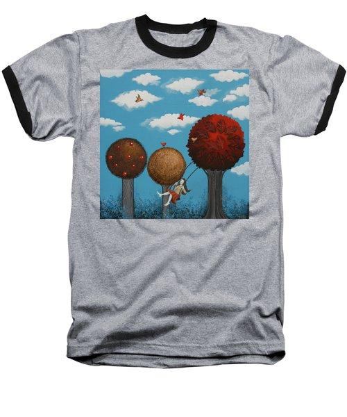 Meditation Under The Trees Baseball T-Shirt