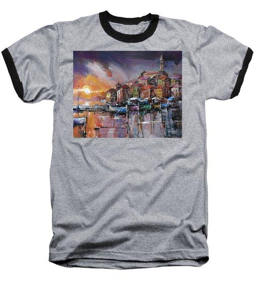 Mediterranean Motif IIi      Baseball T-Shirt