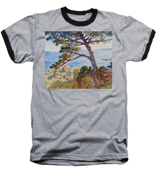 Mediterranean Sea Baseball T-Shirt