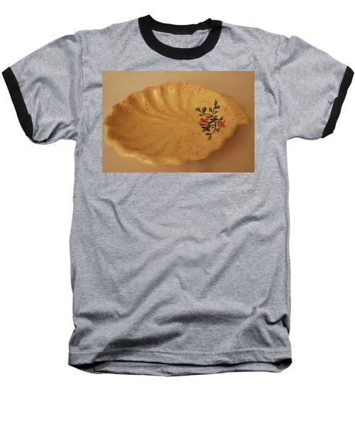 Baseball T-Shirt featuring the photograph Medium Shell Plate by Itzhak Richter
