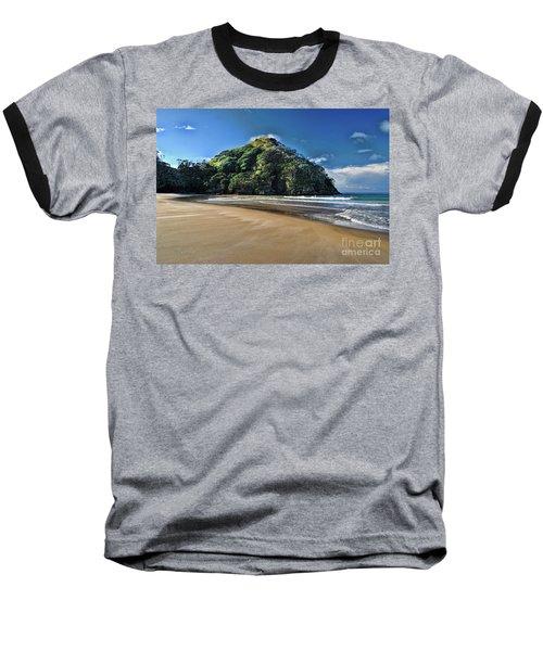 Medlands Beach Baseball T-Shirt by Karen Lewis