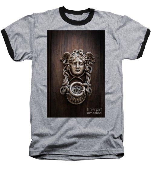 Medusa Head Door Knocker Baseball T-Shirt