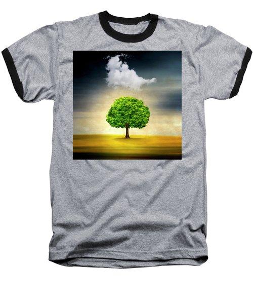 Medusa Rain Baseball T-Shirt