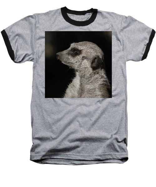 Meerkat Profile Baseball T-Shirt