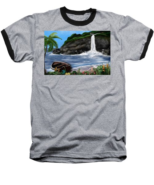 Meet Me At The Beach Baseball T-Shirt