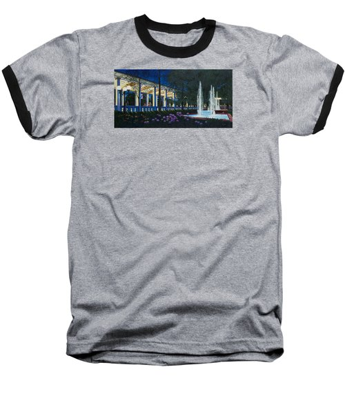 Meet Me At The Muny Baseball T-Shirt by Michael Frank