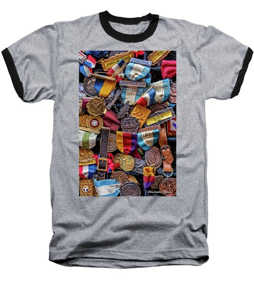 Baseball T-Shirt featuring the photograph Meet Medals by Christopher Holmes