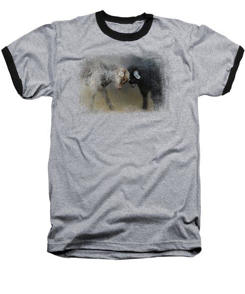 Meeting Of The Minds Baseball T-Shirt
