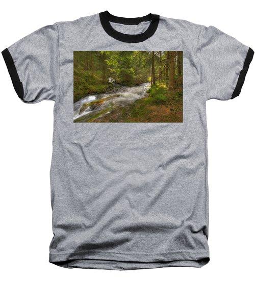 Meeting Of The Streams Baseball T-Shirt