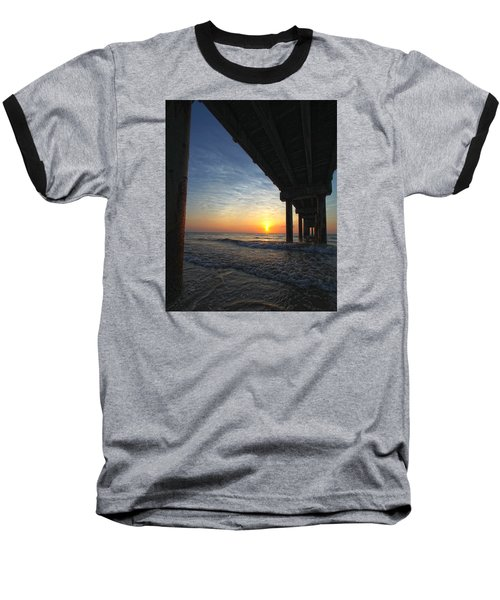 Meeting The Dawn Baseball T-Shirt by Robert Och