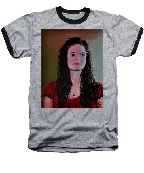Megan At Eighteen Baseball T-Shirt