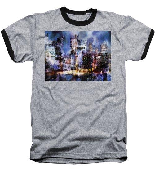 Megapolis II Baseball T-Shirt