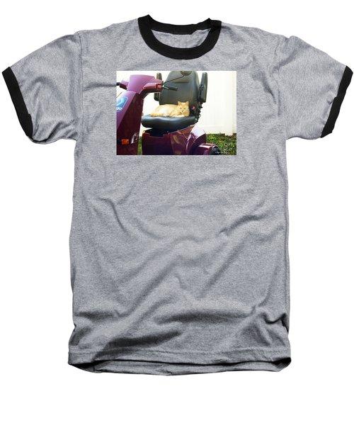 Baseball T-Shirt featuring the photograph Mego And Erick 2 by Megan Dirsa-DuBois