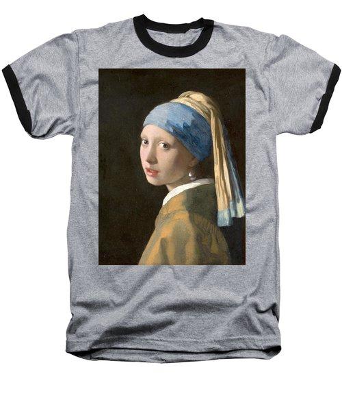 Meisje Met De Parel Baseball T-Shirt