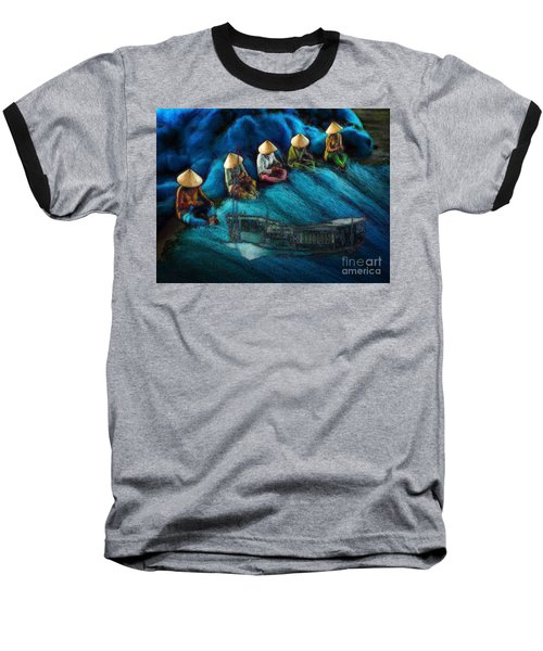 Mekong Weavers Baseball T-Shirt